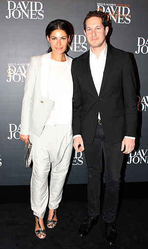Camilla and Marc - The founders in 2013