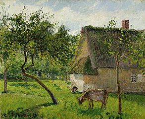 The Orchard and a Cow, Varengeville