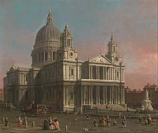 Canaletto - St. Paul's Cathedral - Google Art Project