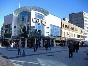 Capitol Centre - Image: Capitol Shopping Cardiff
