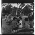 Capt. E.J. Steichen, Navy combat photographer, photographs native children on Guam Island. - NARA - 520943.tif