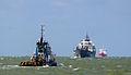 Cargo Ships at Sekondi-Takoradi Harbour (Takoradi Harbour).jpg