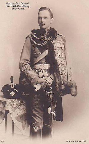 Charles Edward, Duke of Saxe-Coburg and Gotha - Image: Carl Eduard Sachsen Coburg und Gotha