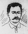Carl Widemann, Advertiser sketch, 1895.jpg