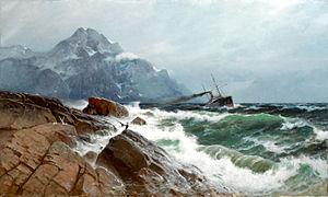 Carl Wilhelm Bøckmann Barth - Image: Carl Wilhelm Barth Marine (1885)