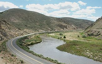 Humboldt River im Carlin Canyon
