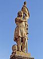 Carling monument aux morts statue de Jeanne d'Arc.jpg