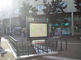 Image illustrative de l'article Carrefour Pleyel (métro de Paris)