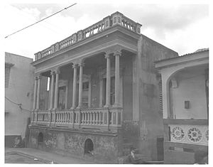 Juanita García Peraza - Peraza's house in Arecibo