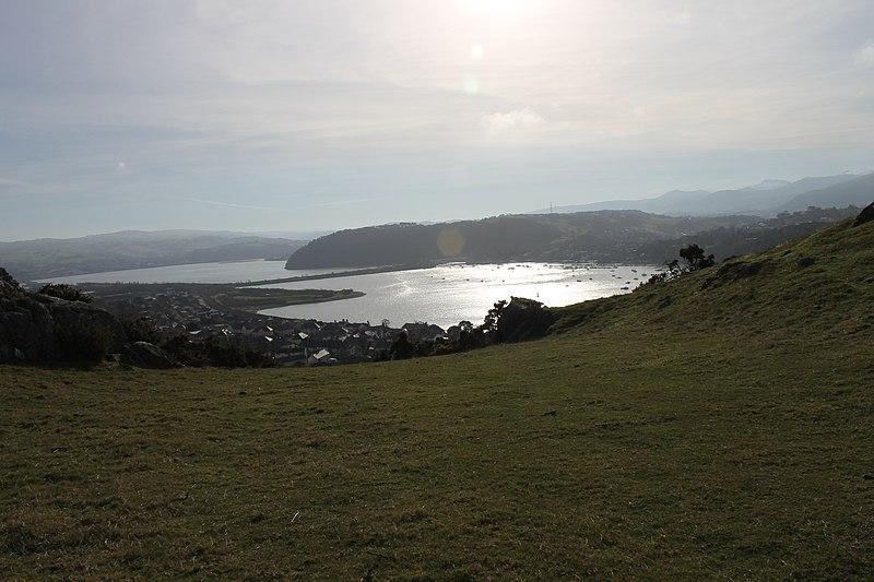 File:Castell Degannwy Deganwy Castle Sir Ddinbych Wales 03.JPG