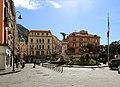 Castellammare di stabia, piazza principe umberto, con monumento ai caduti di giuseppe renda 01.jpg