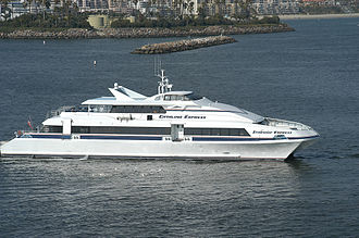 Catalina Express - Catalina Express' Starship Express ferry in 2008