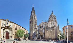 Archbishop's Palace of Toledo - Palace with adjacent cathedral