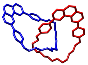 Catenane - Image: Catenane Chem Comm 244 1985