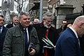 Cathal Boylan MLA & Gerry Adams TD enter the Dáil100 event (32962002588).jpg
