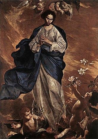 Bernardo Cavallino - Blessed Virgin