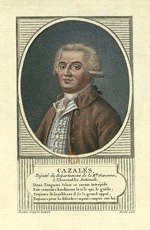 Jacques Antoine Marie de Cazalès - Jacques Antoine Marie de Cazalès