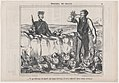 Ce perdreau est mort sur mon terrain..., from Émotions de Chasse, published in Le Charivari, October 10, 1857 MET DP876669.jpg