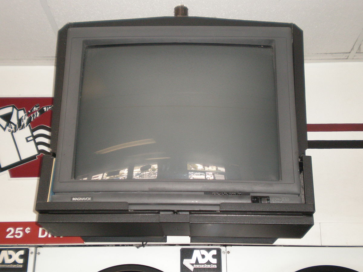 File:Ceiling mounted Magnavox 20 inch TV JPG - Wikimedia Commons
