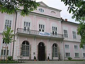 Cekin Mansion - Cekin Mansion in Tivoli City Park, Ljubljana