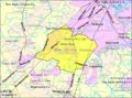 Census Bureau map of South Brunswick Township, New Jersey.png