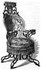 The Centripetal Spring Armchair in the catalogue of the 1851 Great Exhibition