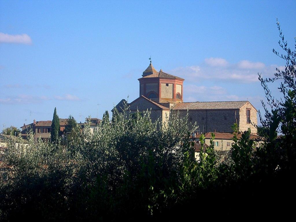 Lucignano, panorama delvCentro storico