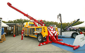 Tow truck - Boom truck with underlift