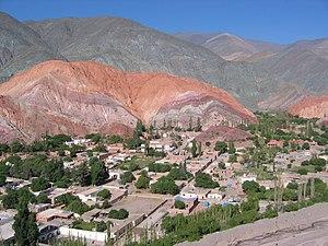 Cerro de los Siete Colores - Image: Cerro de los siete colores