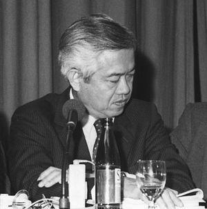 Cesar Virata - Virata as Secretary of Finance in 1983
