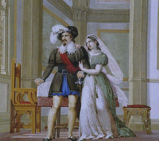 File:Cesare Maffei - Pia de' Tolomei e Nello della Pietra.jpg