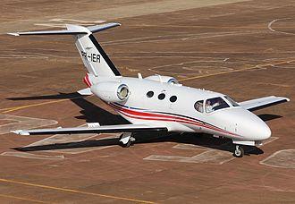 Cessna Citation Mustang - On ramp