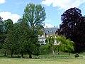Château Grammont à Pont-de-Cheruy, vue du parc 01.jpg