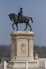 equestrian statue of Anne de Montmorency