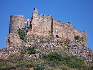 Château de Couzan - East face of the castle