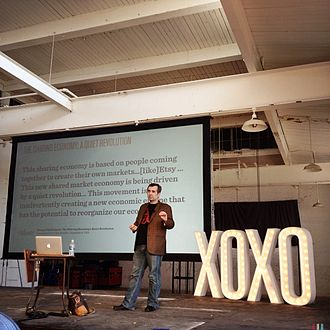 XOXO (festival) - One of the speakers at XOXO 2012, Chad Dickerson of Etsy