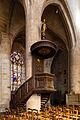Chaire de l'église Saint-Malo, Dinan, France.jpg