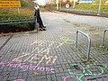 Chalk of shame, Kreda wstydu, Poznan PST Aleje Solidarnosci (1).jpg