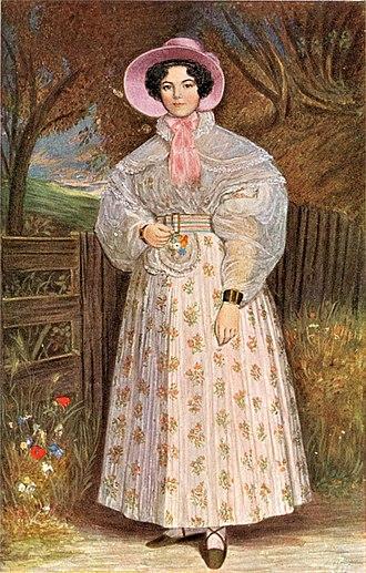 Lizinska de Mirbel - Madame de Mirbel after Charles-Émile-Callande de Champmartin