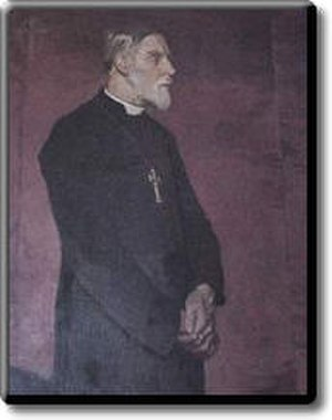 Charles Gore - Portrait of Bishop Gore by Glyn Philpot