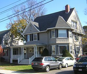 Charles H. Burgess House - Image: Charles H. Burgess House Quincy MA 01