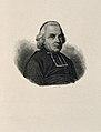 Charles Michel, Abbé de l'Epée. Stipple engraving by Goulu. Wellcome V0003497.jpg