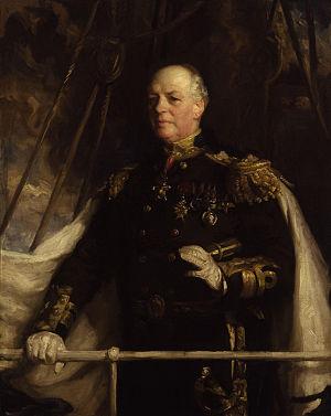 Baron Beresford - Image: Charles William de la Poer Beresford, Baron Beresford by Charles Wellington Furse