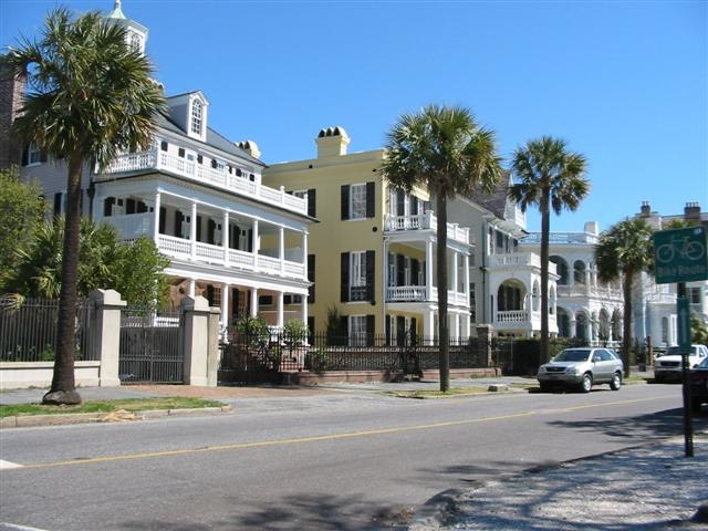 Charleston historic homes