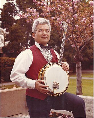 Peninsula Banjo Band - Charlie Tagawa in the 80s