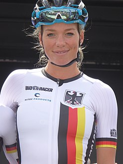 Charlotte Becker - 2018 UEC European Road Cycling Championships (Women's road race).jpg