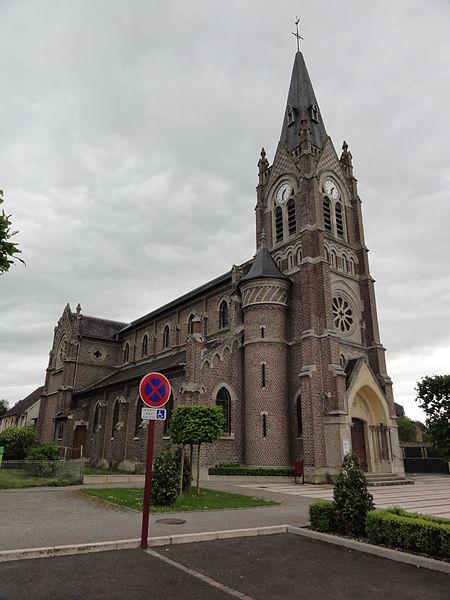 Charmes (Aisne) église