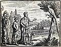 Chauveau - Fables de La Fontaine - 10-11. Les Deux Perroquets, le Roi et son fils.jpg