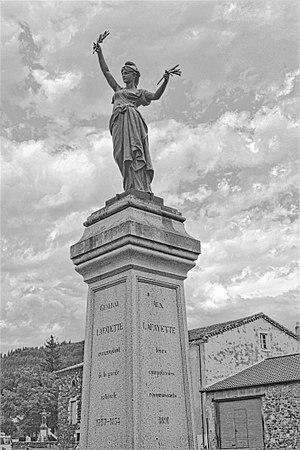 Chavaniac-Lafayette - Image: Chavaniac Lafayette