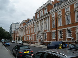 Chelsea College of Science and Technology - Main college building in Manresa Road